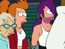 Genderbent Fry and Leela