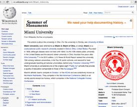 MiamiUniversityWikipediaScreenshot