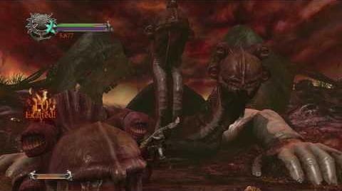 Dante's Inferno - Cerberus (Gluttony Boss Battle) HD 720p