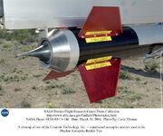 Non-truncated toroidal aerospike nozzle