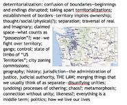Deterritorialization