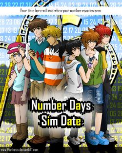 Number days