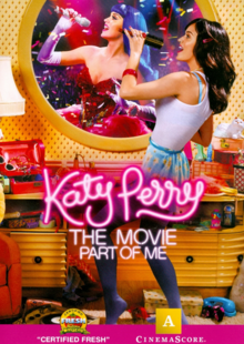 Katy Perry Part of Me 2012 DVD Cover
