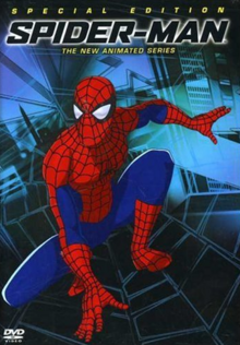 Spider-Man The New Animated Series 2003 DVD Cover