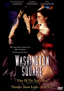 Washington Square 1997 DVD Cover