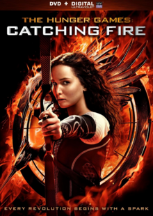 The Hunger Games Catching Fire 2013 DVD Cover