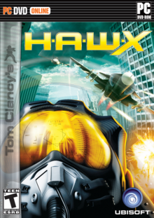 Tom Clancy's H.A.W.X 2009 Game Cover