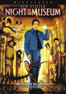 Night at the Museum 2006 DVD Cover