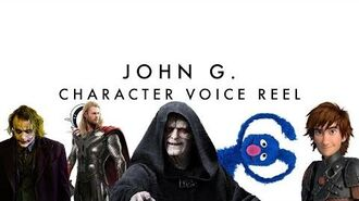 JOHN G. - Character Voice Reel (Star Wars, DC, Infinity Train, etc) John G.
