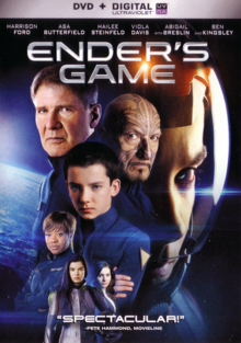 Ender's Game 2013 DVD Cover