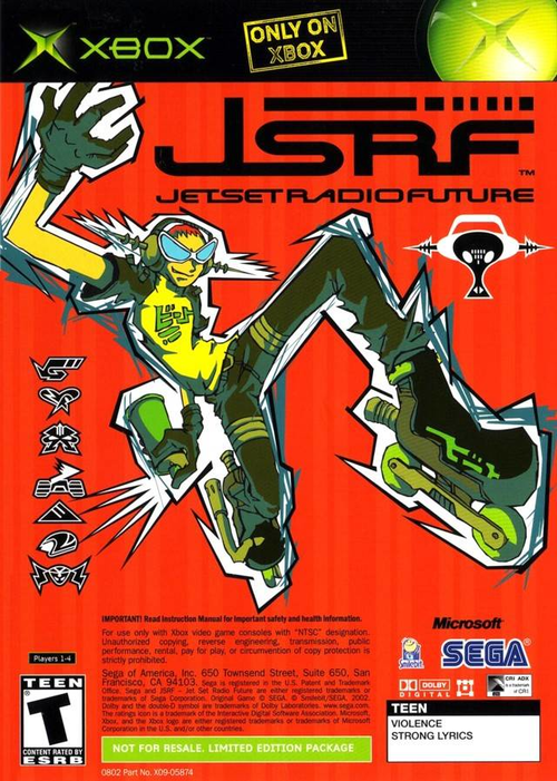 English (2002) Set   Jet  JSRF: Future Over Radio Voice