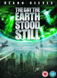 The Day the Earth Stood Still 2008 DVD Cover