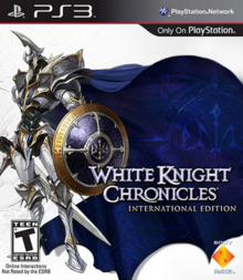 White Knight Chronicles 2010 Game Cover