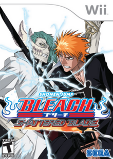 Bleach Shattered Blade 2007 Game Cover