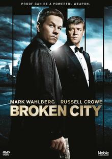 Broken City 2013 DVD Cover