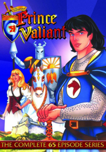 The Legend of Prince Valiant 1991 DVD Cover