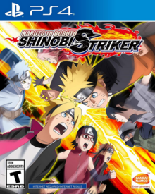 Naruto to Boruto Shinobi Striker 2018 Game Cover