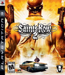 Saints Row 2 2008 Game Cover