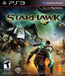 Starhawk 2012 Game Cover