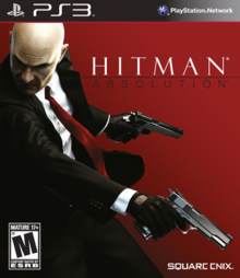 Hitman Absolution 2012 Game Cover