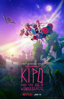 Kipo and the Age of Wonderbeasts 2020 Poster