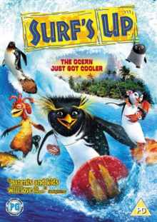 Surf's Up 2007 DVD Cover