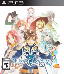 Tales of Zestiria 2015 Game Cover