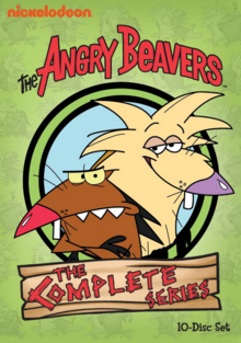 The Angry Beavers 1997 DVD Cover