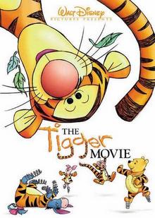 The Tigger Movie 2000 DVD Cover
