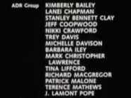 The Wood 1999 Credits