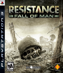 Resistance Fall of Man 2006 Game Cover