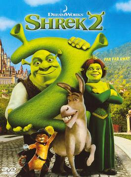 Shrek 2 2004 DVD Cover