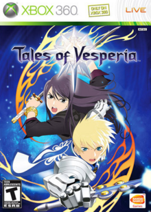 Tales of Vesperia 2008 Game Cover