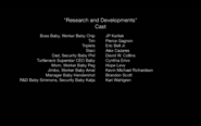 DreamWorks The Boss Baby Back in Business Season 2 Episode 12 Research and Developments 2018 Credits