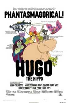 Hugo the Hippo 1976 Poster
