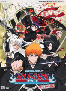 Bleach The Movie Memories of Nobody 2008 DVD Cover