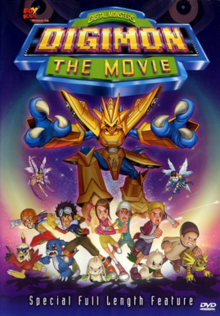Digimon the Movie 2000 DVD Cover