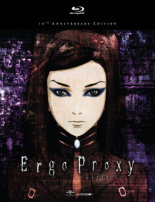 Ergo Proxy 2006 Blu-Ray Cover