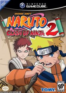 Naruto Clash of Ninja 2 2006 Game Cover