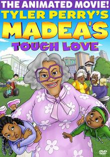Tyler Perry's Madea's Tough Love 2015 DVD Cover