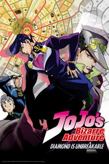JoJo's Bizarre Adventure Diamond is Unbreakable 2018 Poster