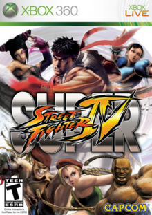 Super Street Fighter IV 2010 Game Cover