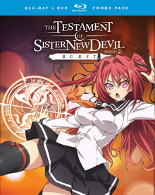 The Testament of Sister New Devil BURST 2018 Blu-Ray DVD Cover