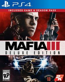 Mafia III 2016 Game Cover