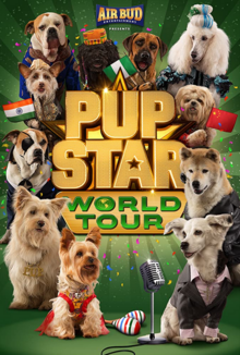 Pup Star World Tour 2018 Poster