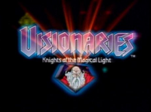 Visionaries Knights of the Magical Light 1987 Title Card