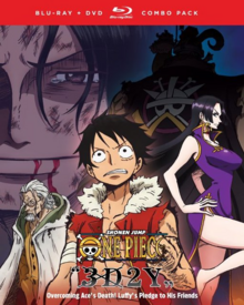 One Piece 3D2Y Overcoming Ace's Death! Luffy's Pledge to His Friends 2019 Blu-Ray DVD Cover