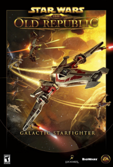 Star Wars The Old Republic Galactic Starfighter 2013 Game Cover