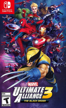 Marvel Ultimate Alliance 3 The Black Order 2019 Game Cover