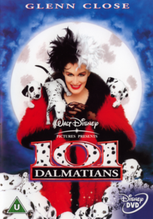 Disney's 101 Dalmatians 1996 DVD Cover